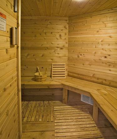 Custom Built Home Sauna