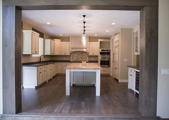 Custom White Cabinet Kitchen