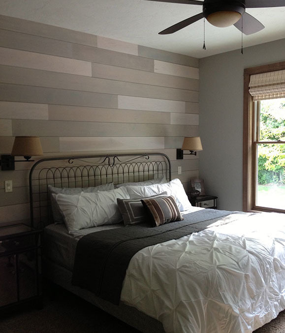 Timber Wood Accent Wall